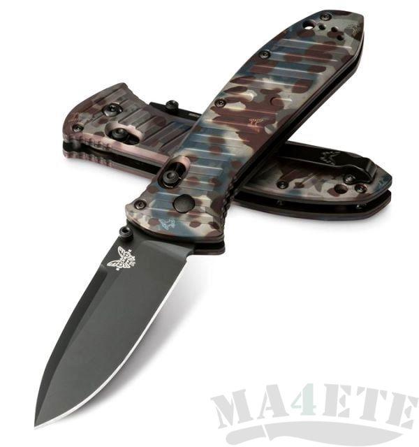 картинка Складной нож Benchmade Presidio II Rustic Butterfly Camo Limited Edition 570BK-1801 от магазина ma4ete