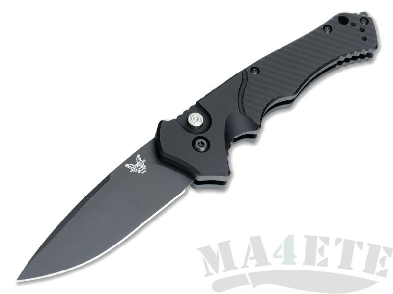 картинка Складной автоматический нож Benchmade Rukus II 9600BK от магазина ma4ete