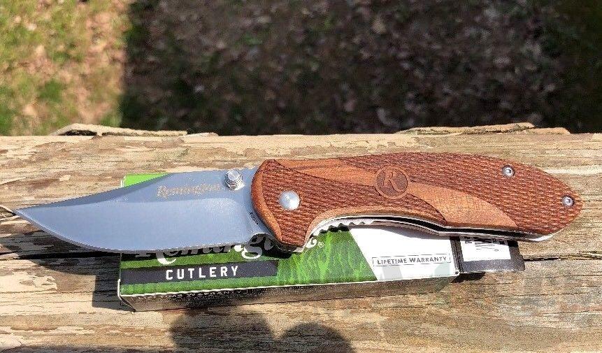 картинка Складной нож Buck Remington Heritage Series Large R40001 от магазина ma4ete