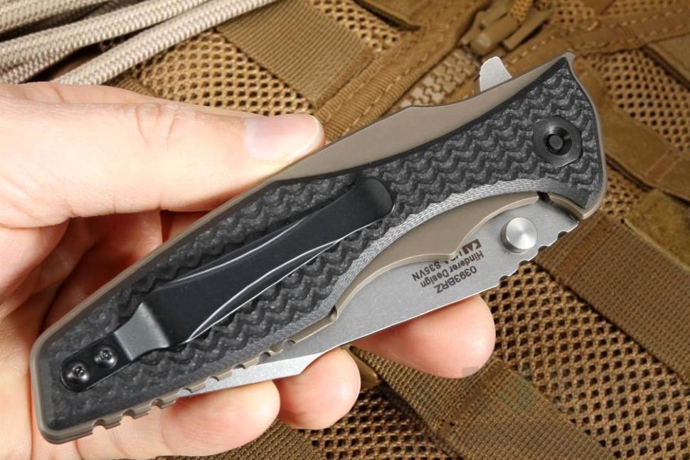 картинка Складной нож Zero Tolerance 0393BRZ от магазина ma4ete