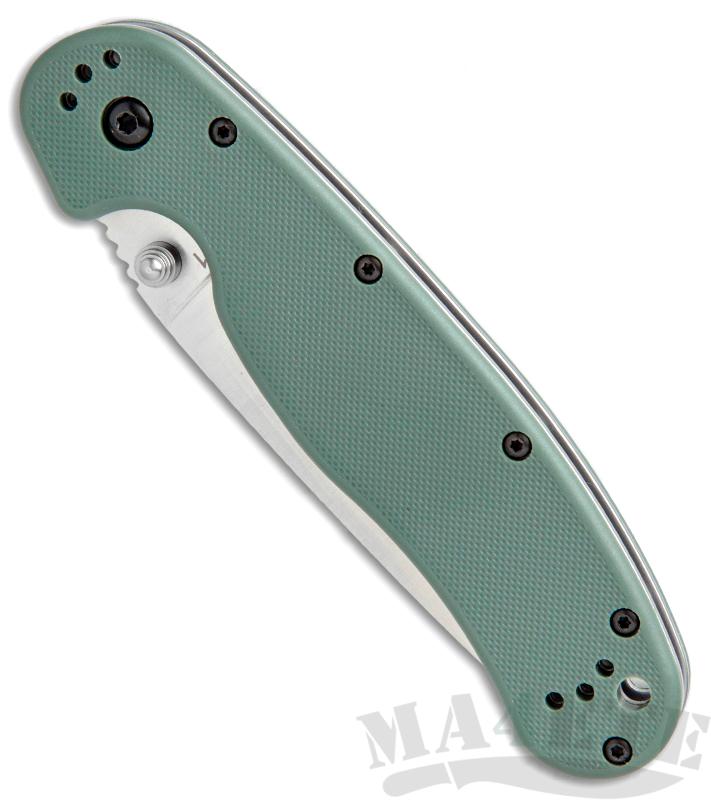 картинка Складной нож Ontario RAT-1 Olive Drab 8848OD от магазина ma4ete