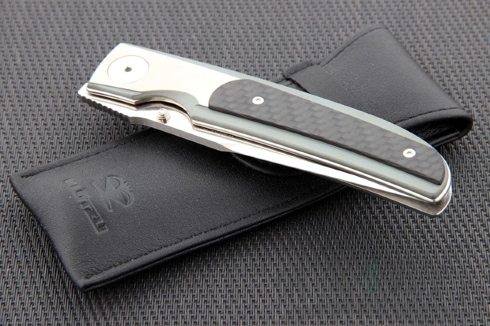 картинка Складной нож Klotzli Walker 03 KL_WALK-03-Carbon от магазина ma4ete