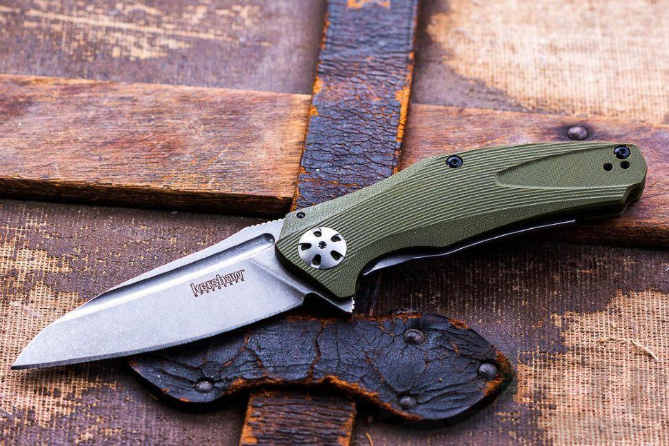 картинка Складной полуавтоматический нож Kershaw Natrix Olive Green K7007OLBW от магазина ma4ete