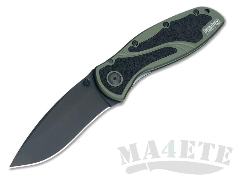 картинка Складной полуавтоматический нож Kershaw Blur K1670OLBLK от магазина ma4ete