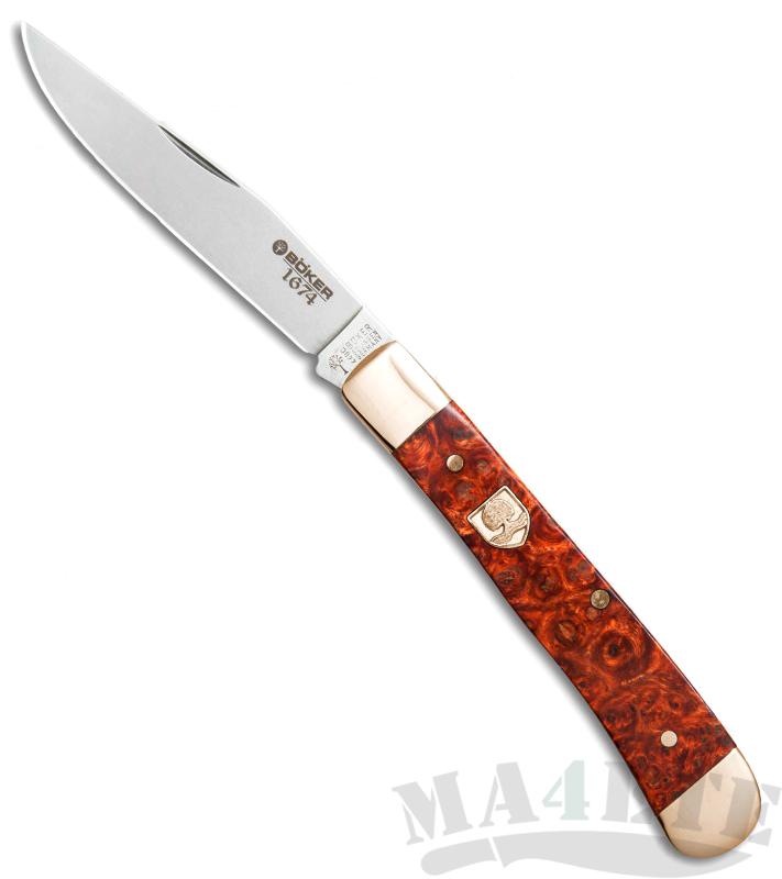 картинка Складной нож Boker Trapper 1674 112555 от магазина ma4ete