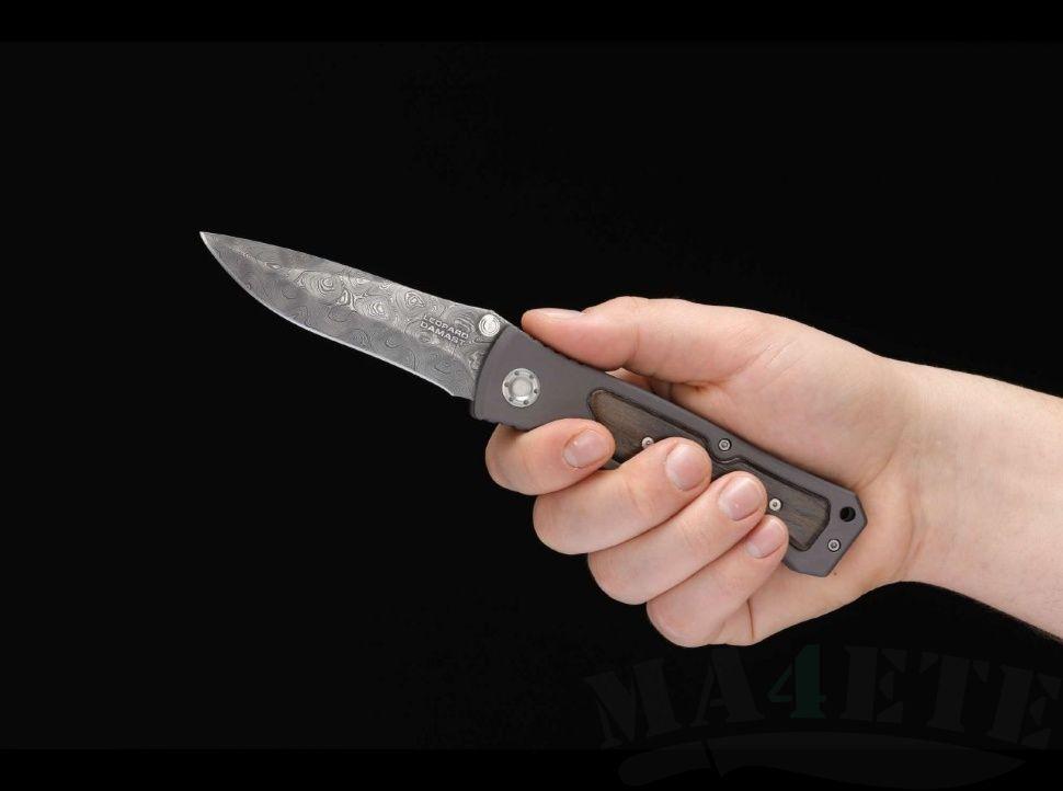 картинка Складной нож Boker Leopard Damast II 111054DAM от магазина ma4ete