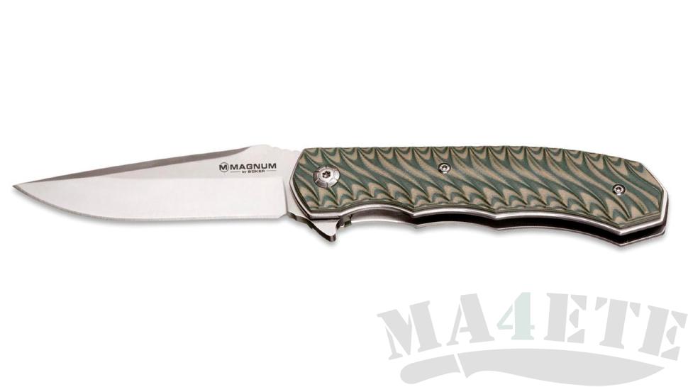 картинка Складной нож Boker Magnum Satin Green 01LG445 от магазина ma4ete