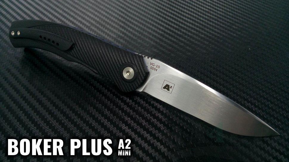 картинка Складной нож Boker Plus A² Mini 01BO355 от магазина ma4ete