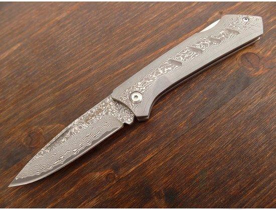картинка Складной нож Boker Plus Damascus Dominator 01BO511DAM от магазина ma4ete