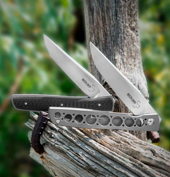 картинка Складной нож Boker Urban Trapper Damasteel 01BO739DAM от магазина ma4ete
