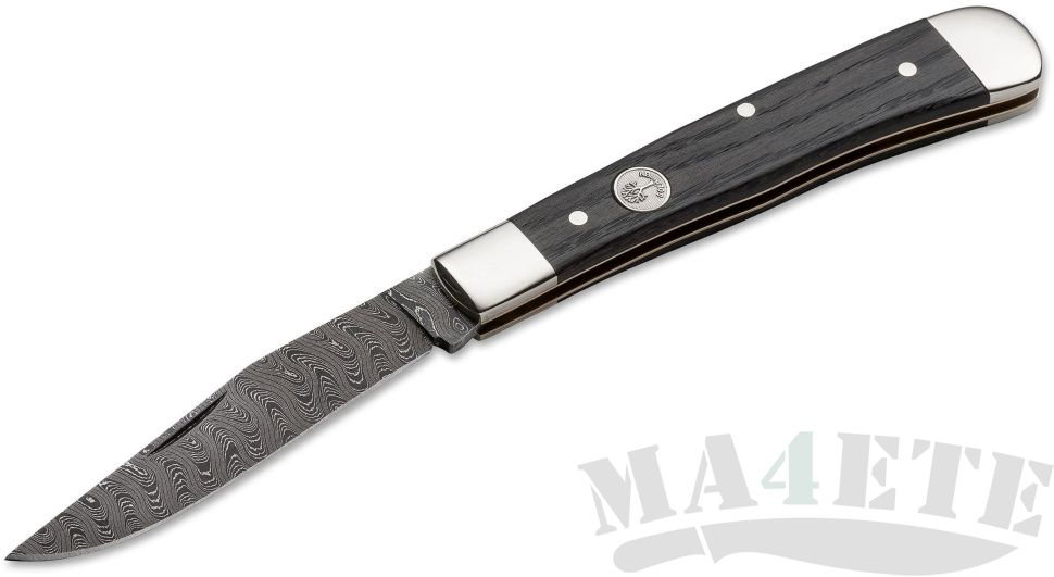 картинка Складной нож Boker Trapper Classic Damast 112545DAM от магазина ma4ete