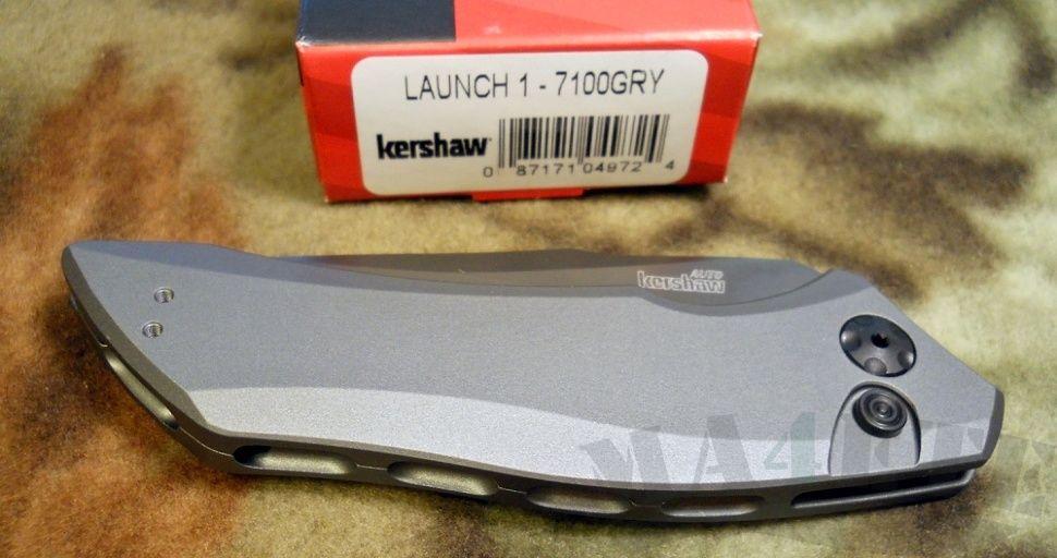 картинка Складной автоматический нож Kershaw Launch 1 K7100GRY от магазина ma4ete