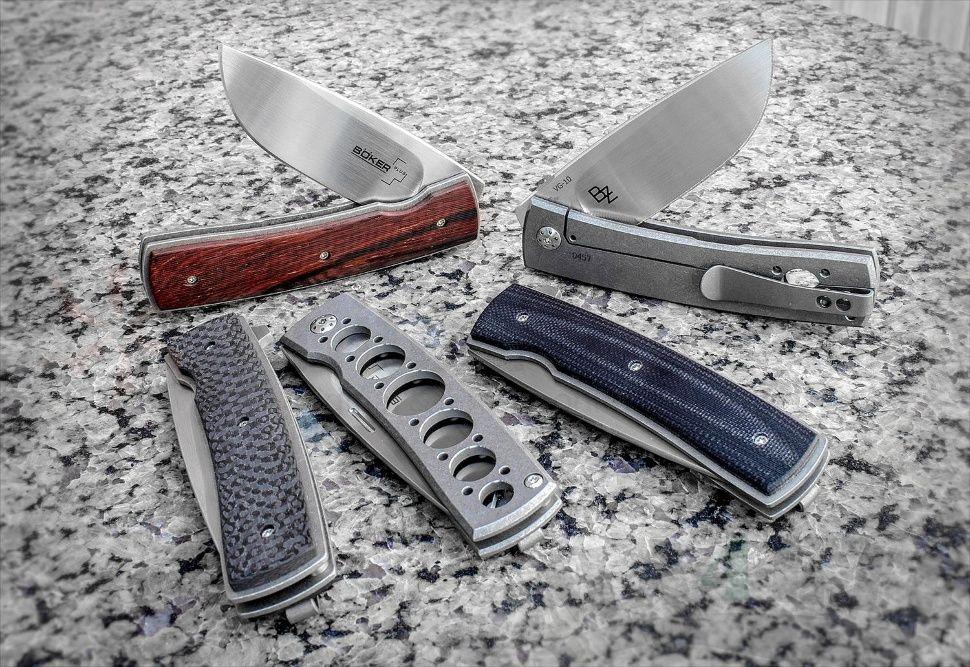 картинка Складной нож Boker Plus FR Titan 01BO740 от магазина ma4ete