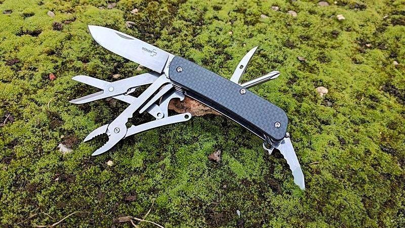 картинка Складной нож - мультитул Boker Tech Tool Carbon 5 01BO824 от магазина ma4ete