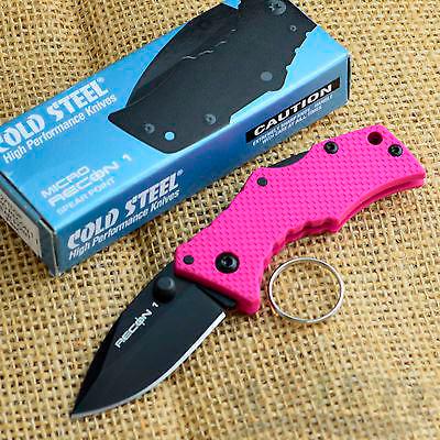 картинка Складной нож Cold Steel Micro Recon 1 Spear Point Pink 27TDSP от магазина ma4ete