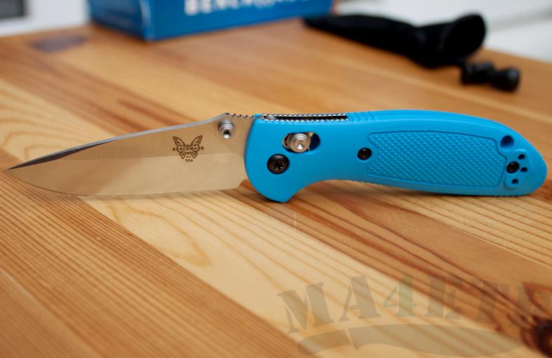 картинка Складной нож Benchmade Mini Griptilian 556-BLU от магазина ma4ete