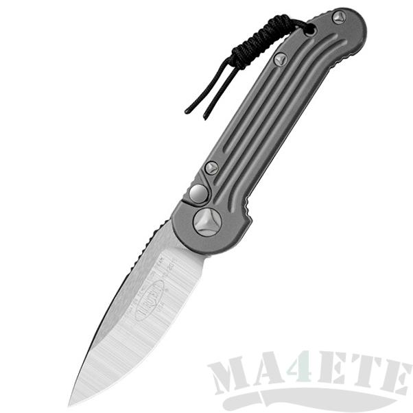 картинка Складной автоматический нож Microtech LUDT Gray MT_135-4GY от магазина ma4ete