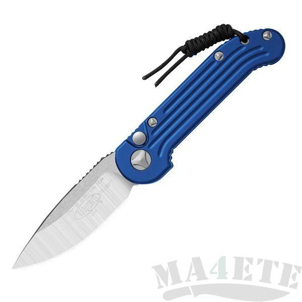 картинка Складной автоматический нож Microtech LUDT Blue MT_135-4BL от магазина ma4ete