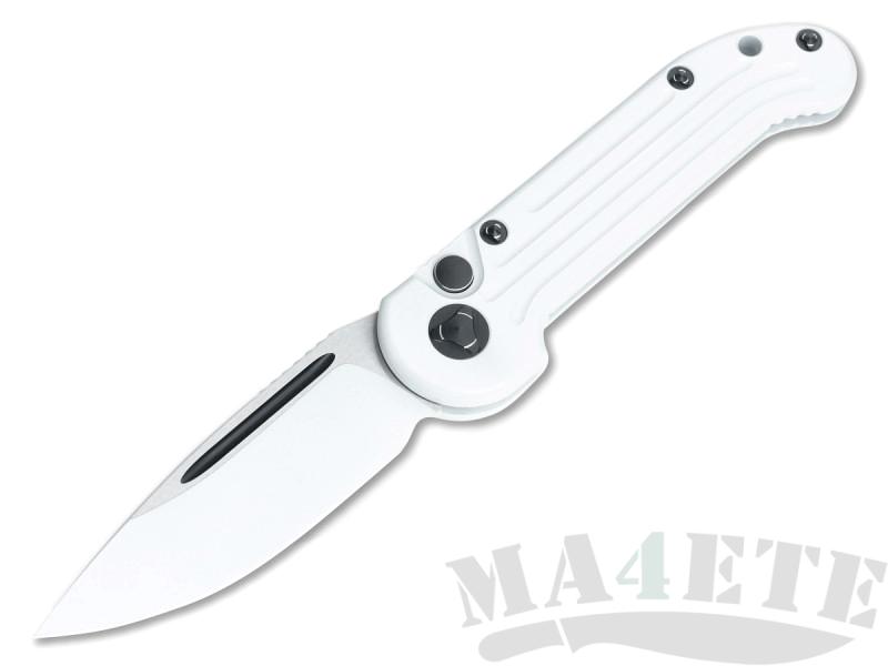 картинка Складной автоматический нож Microtech LUDT Storm Trooper White MT_135-1ST от магазина ma4ete