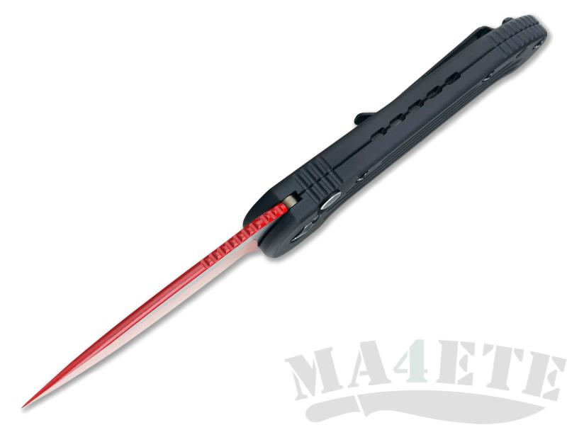 картинка Складной автоматический нож Microtech LUDT Sith Lord Red MT_135-1SL от магазина ma4ete