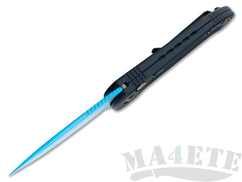 картинка Складной автоматический нож Microtech LUDT Jedi Knight Blue MT_135-1JK от магазина ma4ete