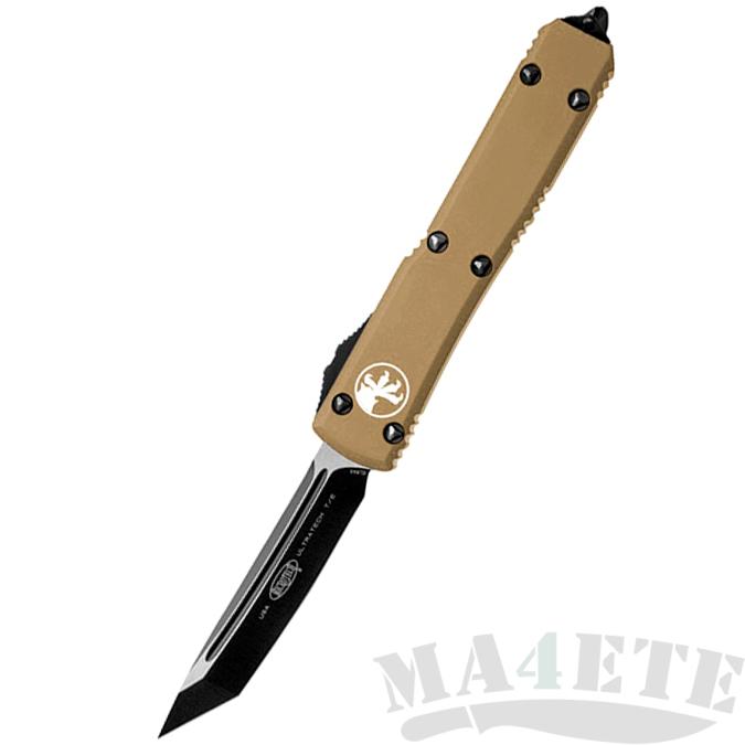 картинка Автоматический выкидной нож Microtech Ultratech T/E MT_123-1TA от магазина ma4ete