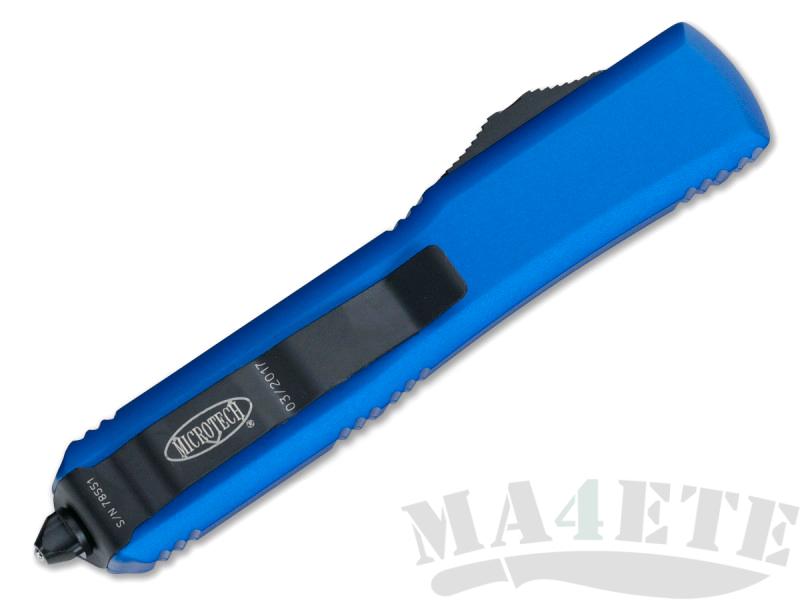 картинка Автоматический выкидной нож Microtech Ultratech T/E MT_123-1BL от магазина ma4ete