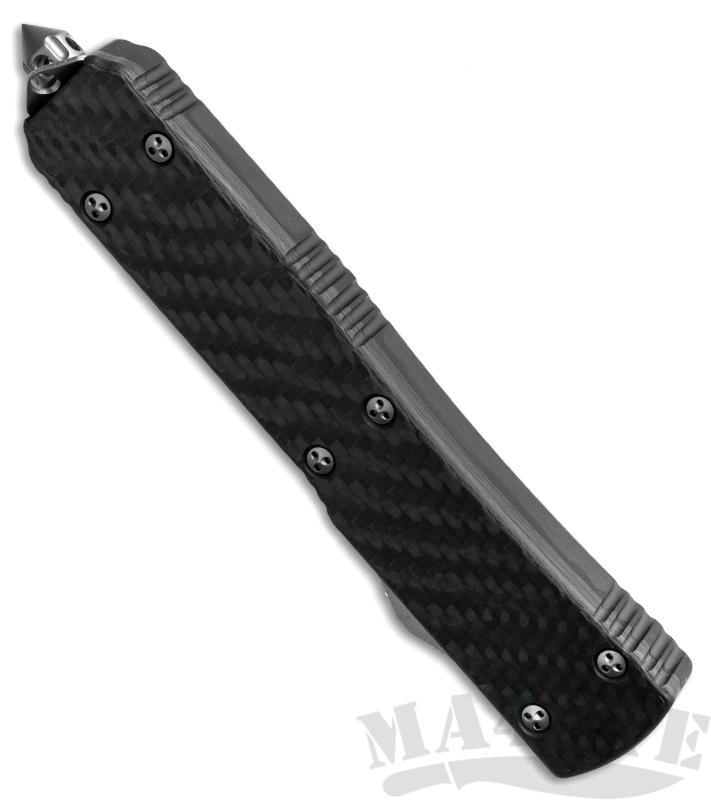 картинка Автоматический выкидной нож Microtech Ultratech S/E MT_121-4CF от магазина ma4ete