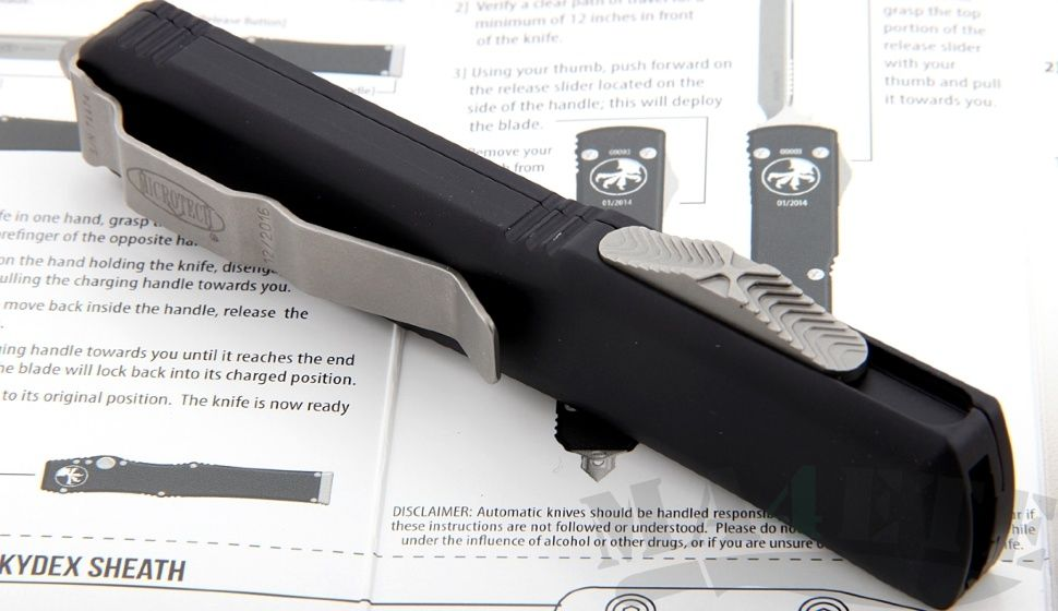 картинка Автоматический выкидной нож Microtech Ultratech S/E MT_121-4 от магазина ma4ete