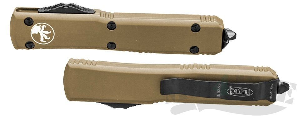картинка Автоматический выкидной нож Microtech Ultratech S/E MT_121-1TA от магазина ma4ete