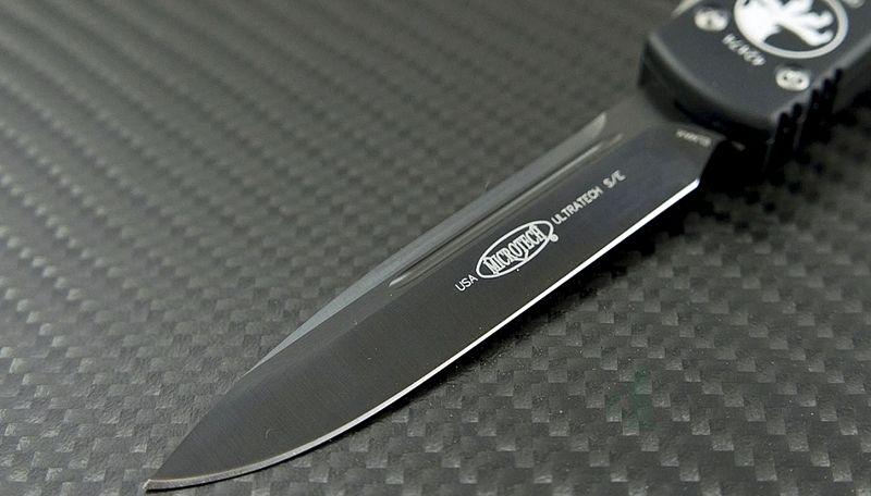 картинка Автоматический выкидной нож Microtech Ultratech S/E MT_121-1 от магазина ma4ete