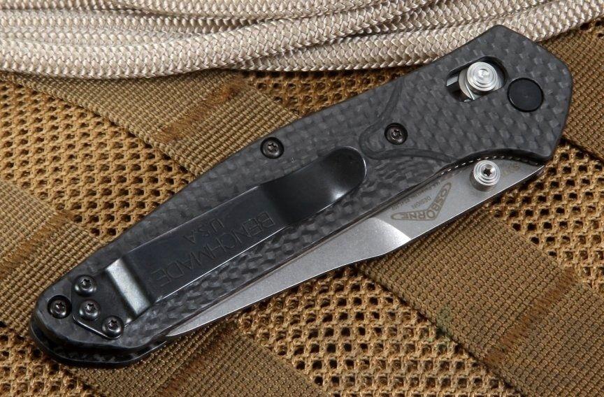 картинка Складной нож Benchmade Osborne Carbon 940-1 от магазина ma4ete