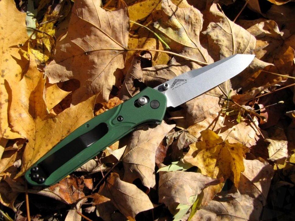 картинка Складной нож Benchmade Osborne Green 940 от магазина ma4ete