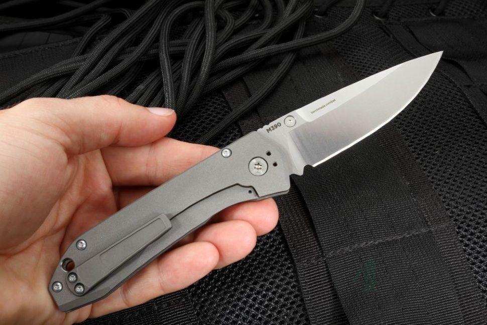картинка Складной нож Benchmade Mini Ti Monolock 765 от магазина ma4ete
