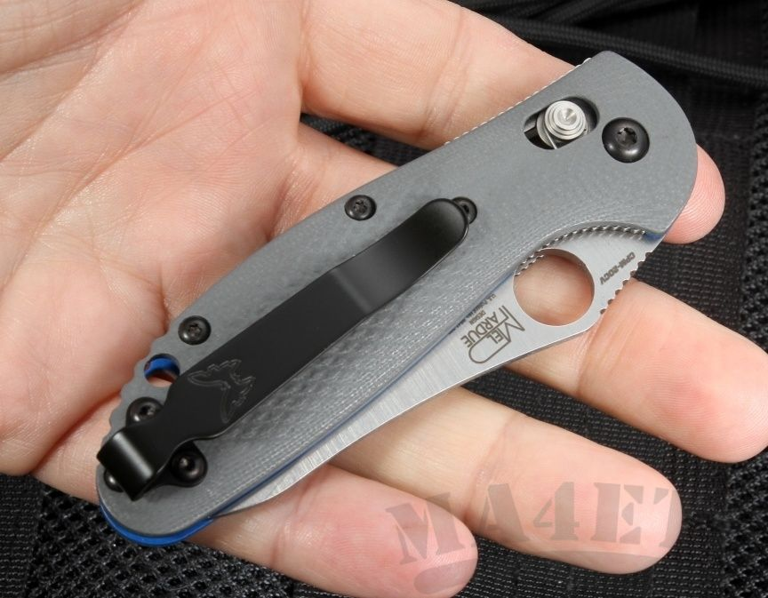 картинка Складной нож Benchmade Mini Griptilian 555-1 от магазина ma4ete