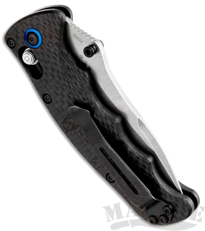 картинка Складной нож Benchmade Nakamura Carbon 484-1 от магазина ma4ete