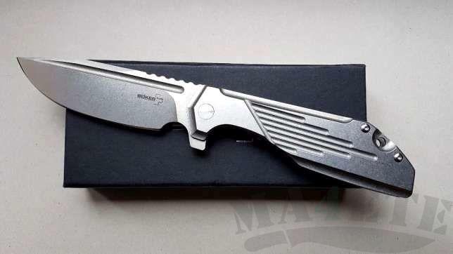 картинка Складной нож Boker Plus JB Stout Lateralus 01BO777 от магазина ma4ete