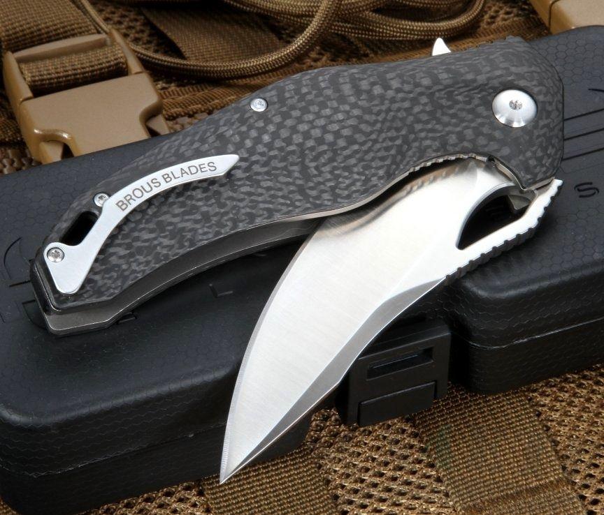 картинка Складной нож Brous Blades VR-71 Satin от магазина ma4ete