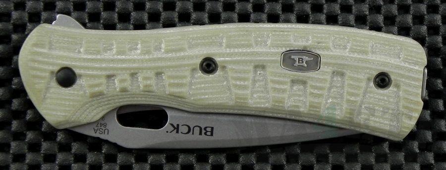 картинка Складной нож Buck Vantage Force Pro Desert Tan B0847TNS от магазина ma4ete