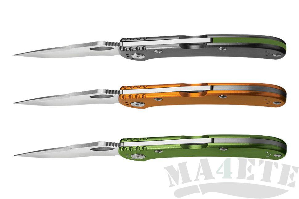картинка Складной нож Buck Spitfire Green 0722GRS1 от магазина ma4ete