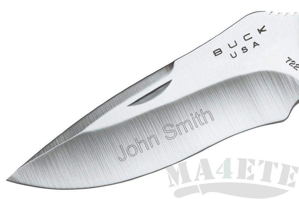 картинка Складной нож Buck Spitfire Gray 0722GYS1 от магазина ma4ete