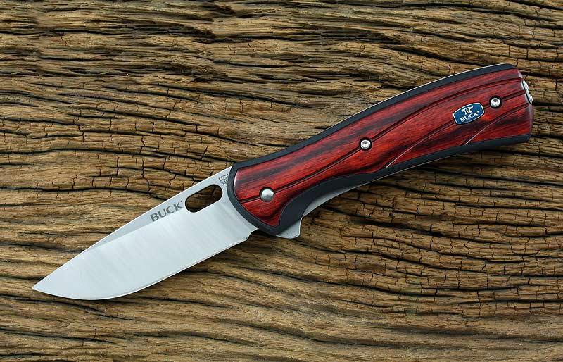 картинка Складной нож Buck Vantage Avid Large Rosewood 0346RWS от магазина ma4ete
