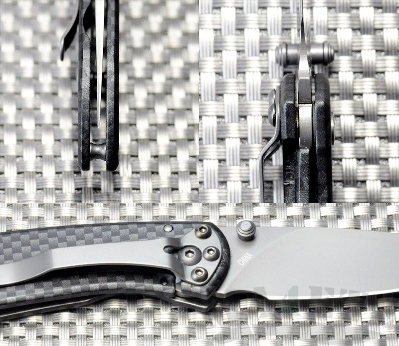 картинка Складной нож Buck Nobleman Carbon 0327CFS от магазина ma4ete