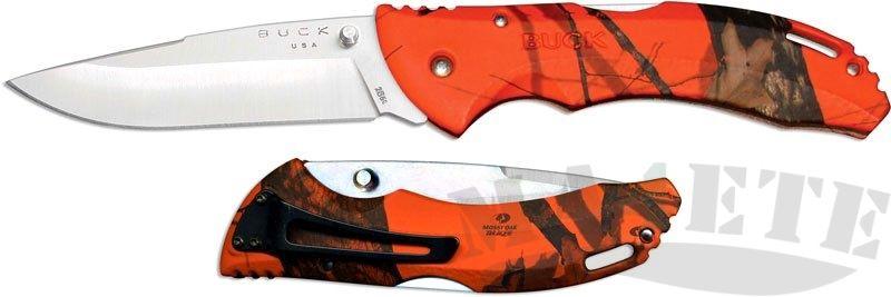 картинка Складной нож Buck Bantam BHW Mossy Oak Blaze Camo 0286CMS9 от магазина ma4ete