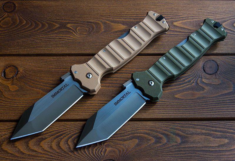 картинка Складной нож Cold Steel Immortal OD Green 23GVG от магазина ma4ete