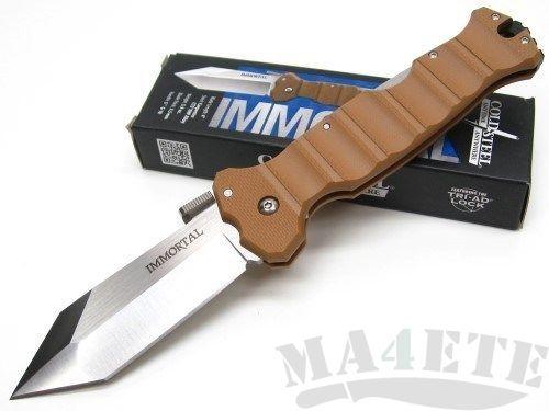 картинка Складной нож Cold Steel Immortal Coyote Tan 23GVB от магазина ma4ete
