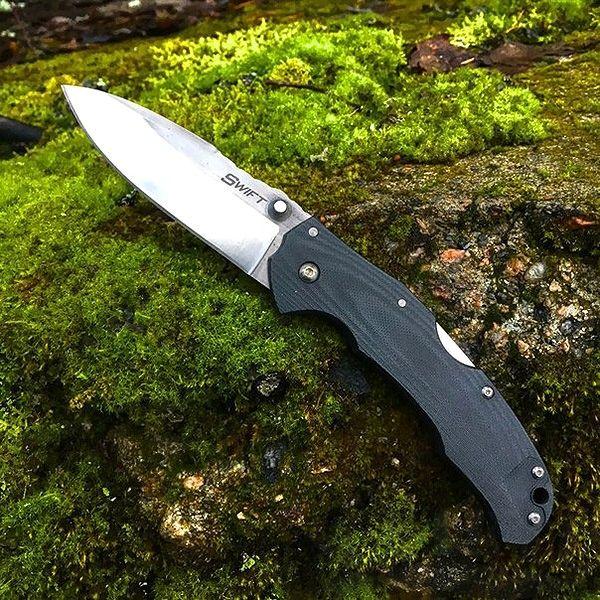 картинка Складной полуавтоматический нож Cold Steel Swift I 22A от магазина ma4ete