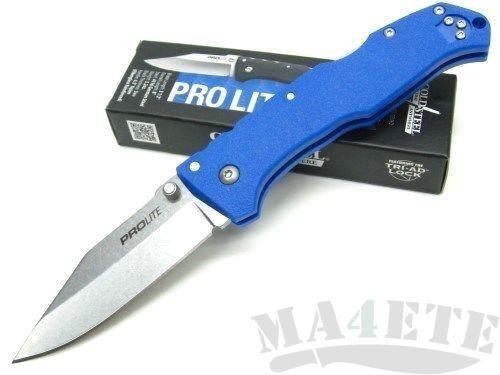 картинка Складной нож Cold Steel Pro Lite Blue 20NSCLU от магазина ma4ete