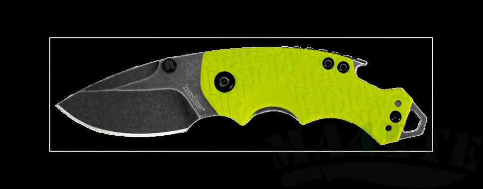 картинка Складной нож Kershaw Shuffle Lime K8700LIMEBW от магазина ma4ete