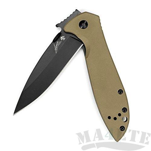картинка Складной нож Kershaw Emerson CQC-4K K6054BRNBLK от магазина ma4ete